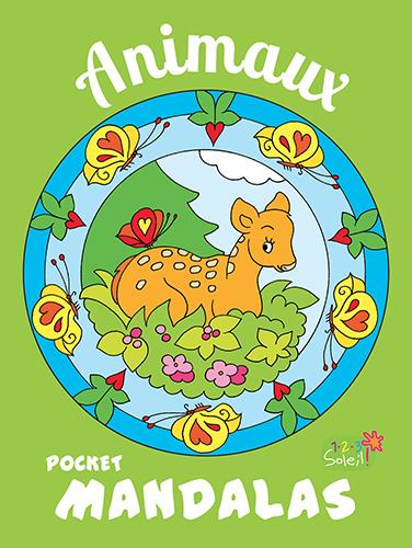 POCKET MANDALAS ANIMAUX COLLECTIF 1 2 3 Soleil